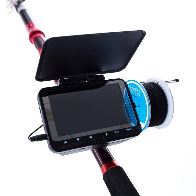 HD 1000TVL Unterwasser Fisch Finder Video Kamera für Angeln SYANSPAN 4,3