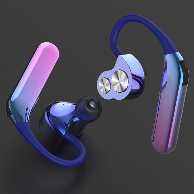 Wireless Bluetooth Headset Stereo Earphone Heavy Bass Hands Free For IPhone XR Samsung Galaxy S8 All Bluetooth Device