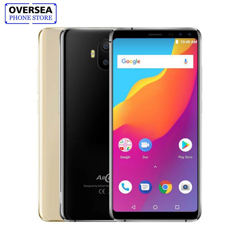 Allcall S1 3G WCDMA 5000mAh Battery Four Cams Mobile Phone Android 8.1 MTK6580A Quad-core 5.5-Inch 16GB 2GB 13MP 18:9 Smartphone