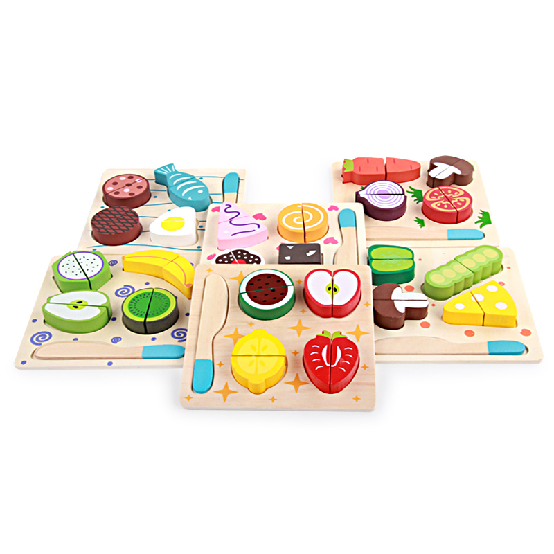 Montessori kids Food set toy fruit fish vegetable combination toys baby boy girl child toy miniature fast food pretend toyMontessori kids Food set toy fruit fish vegetable combination toys baby boy girl child toy miniature fast food pretend toy