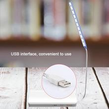 Mini USB Laptop Lamp 10 LED Desk Lamp Lightweight Flexible Bright USB Table Light for Laptop Notebook Desktop PC Brand New hngchoige 28 led flexible computer light laptop lamp desktop pc desk reading mini usb led lamp with button