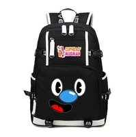 anime Cuphead Backpack School Bag Bookbags men women Shoulder bag Laptop Travel bags canvas teenagers Rucksack