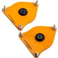 Einstellbare Gewindefahrwerk Kit Sturz Platten für Mini Cooper R50 2002-2006 Top Hut