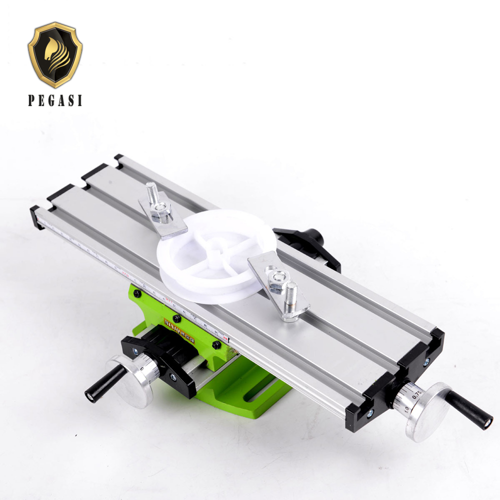 Excellent Us 38 07 31 Off Pegasi Mini Multi Function Adjustable Milling Machine Cross Aluminum Table Compound Slide Worktable For Grinding Work Bench In Power Gmtry Best Dining Table And Chair Ideas Images Gmtryco