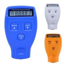 Измеритель толщины покрытия пленкой, измерительный прибор, Немагнитный прибор для измерения толщины поверхности автомобиля, приборы измеритель толщины краски, тестер