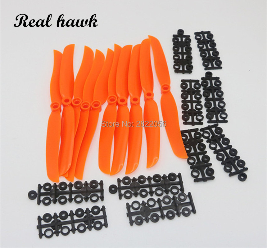 Airplane <font><b>Propell</b></font> 4pcs/lot EP5030/<font><b>6035</b></font>/7035/8040/8060/9050/1060/1160 Props For RC Model Aircraft Replace GWS image