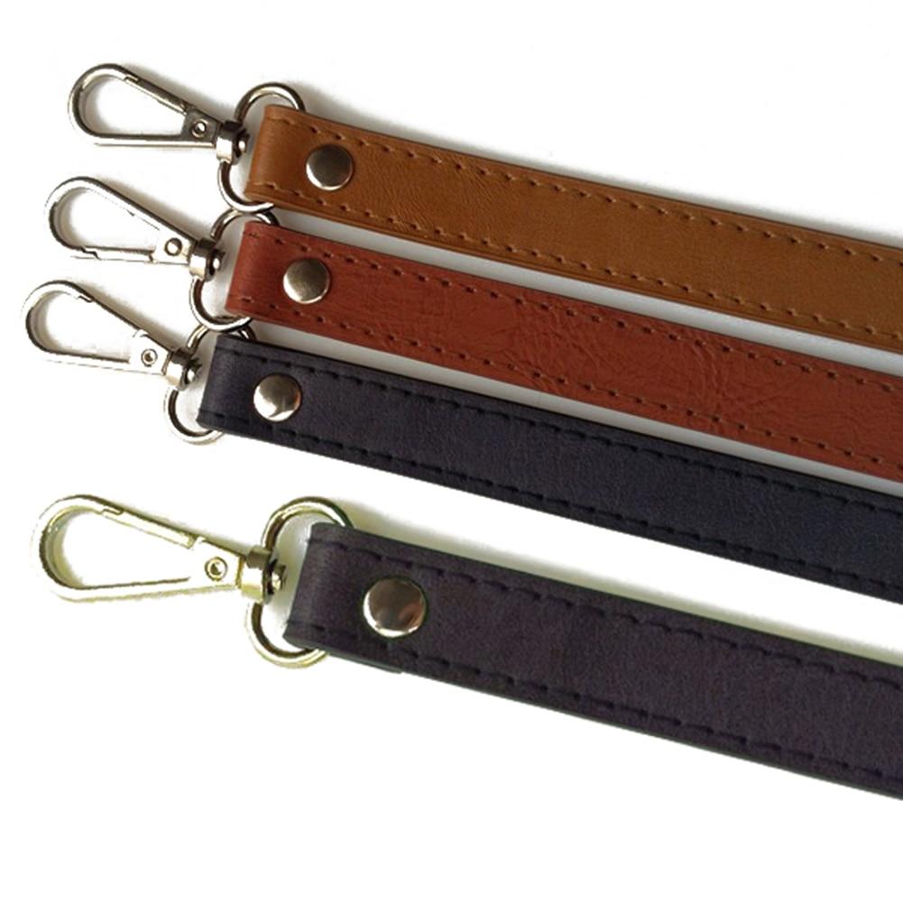 120cm Fashion Solid Color PU Leather Bag Belts Women Adjustable DIY Handles Replacement Handbag Shoulder Bag Straps Accessories