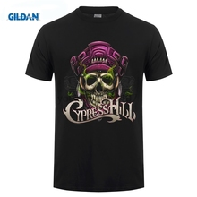 GILDAN CypressHill Cypress Hill Skull Logo Hip Hop T-Shirt Men and men tee big sizeS-XXXL cypress hill cypress hill till death do us part