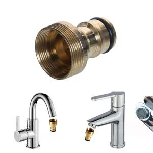 Image 1 - Universal Hose Tap Connector Mixer Hose Adaptor Water Pipe Connector Joiner Fitting Hose Connector Garden Watering Tools