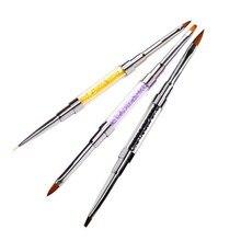 New Double-Head Nail Painted Pen Crystal Nail Art Pen