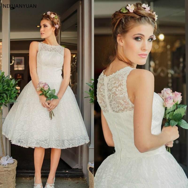 Short Wedding Dress With Jacket Lace Garden Best Sale