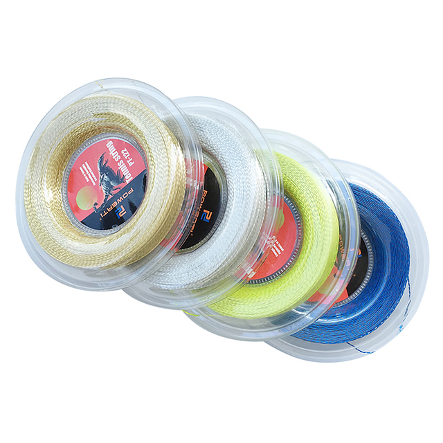 200M / 660 FT Nylon Tennis String Powerful Resilient Tennis Racket Replacement String Soft Tennis Trainng String