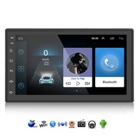 8802 Android 8.0 Car Multimedia Player 2 DIN 7inch Touchscreen Car Player Bluetooth WiFi GPS Navigator FM Station Radio Player