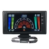 8 18V Car meter 6 in 1 LCD Car Digital Gauge Oil Pressure Voltage Water Temperature Oil Temperature Tachometer RPM