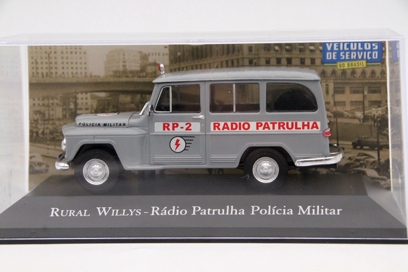 Altaya 1:43 Ford Corcel Policia Militar Sao Paulo Cars Diecast Models Collection