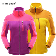 THE ARCTIC LIGHT Women Winter Softshell Fleece Jackets Travel Outdoor Sport Warm Coats Hiking Skiing Trekking Female Fish Jacket недорого