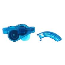 Велосипед Горный очиститель цепи для велосипеда инструменты маховик щеточка для очищения цепи велосипеда очиститель инструмент ABS пластик синий чистые цепи