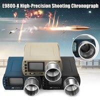 10C to 50C E9800 X Airsoft BB Shooting Speed Tester High Precision Shooting Chronograph 0 500J Firing Kinetic Energy LCD Screen
