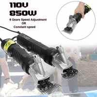 110 V 850 W Elektrische Tier Schaf Ziege Schermaschine Clipper Scheren Cutter Wolle scissor Mit Box Einstellbare Konstante Geschwindigkeit