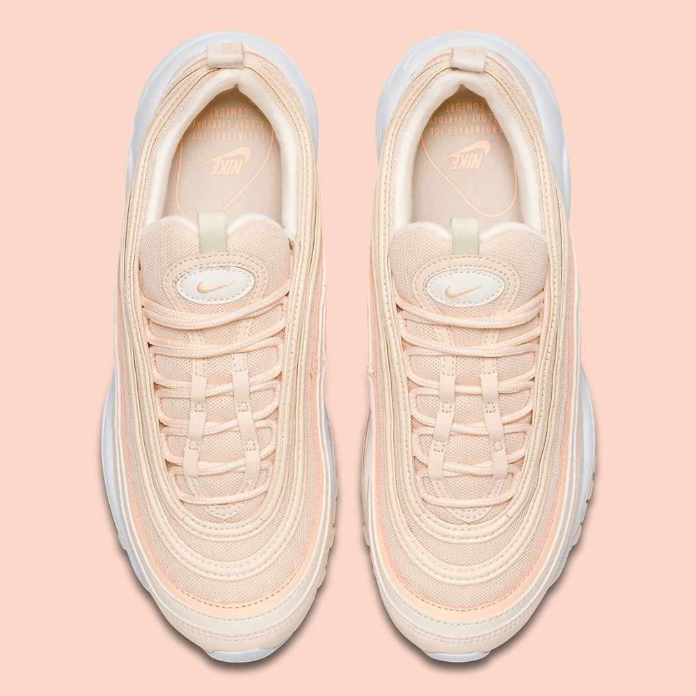 Nike Air Max 97 New Arrival Woman Running Shoes Orange Air Cushion Restore Ancient Ways Leisure Sneakers #921733 801