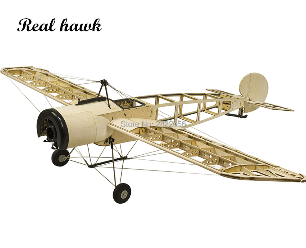 RC Airplanes Model Laser Cut Scale 1200mm Fokker E.III Eindecker WW1 Fighter Balsa wood Building Kit Woodiness model WOOD PLANE