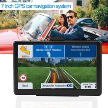 цена на 7-Inch Touch Screen Ultra Thin Car Truck GPS Navigation System Portable 8GB FM Touch Screen HD Europe/North/South America Maps
