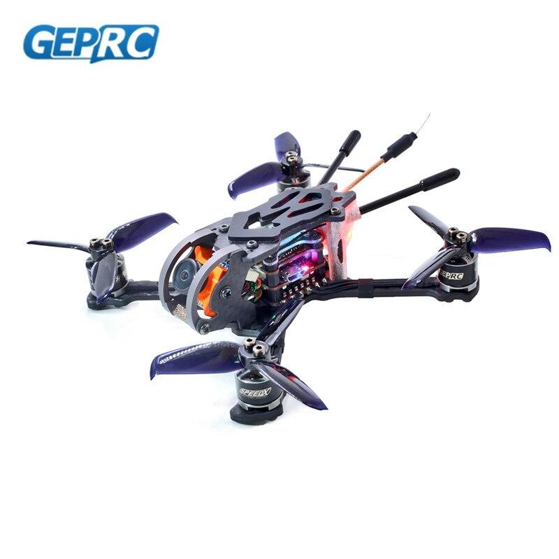 Mais novo GEPRC GEP-Corridas de Phoenix 125 milímetros FPV Zangão BNF/PNP W/Controlador de Vôo F4 RunCam Micro swift 600TVL Câmera RC Quadcopter