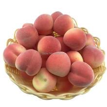 Gresorth 30pcs MINI Artificial Peach Decoration Fake Fruit Home Party Christmas DIY Material - 3.5 cm