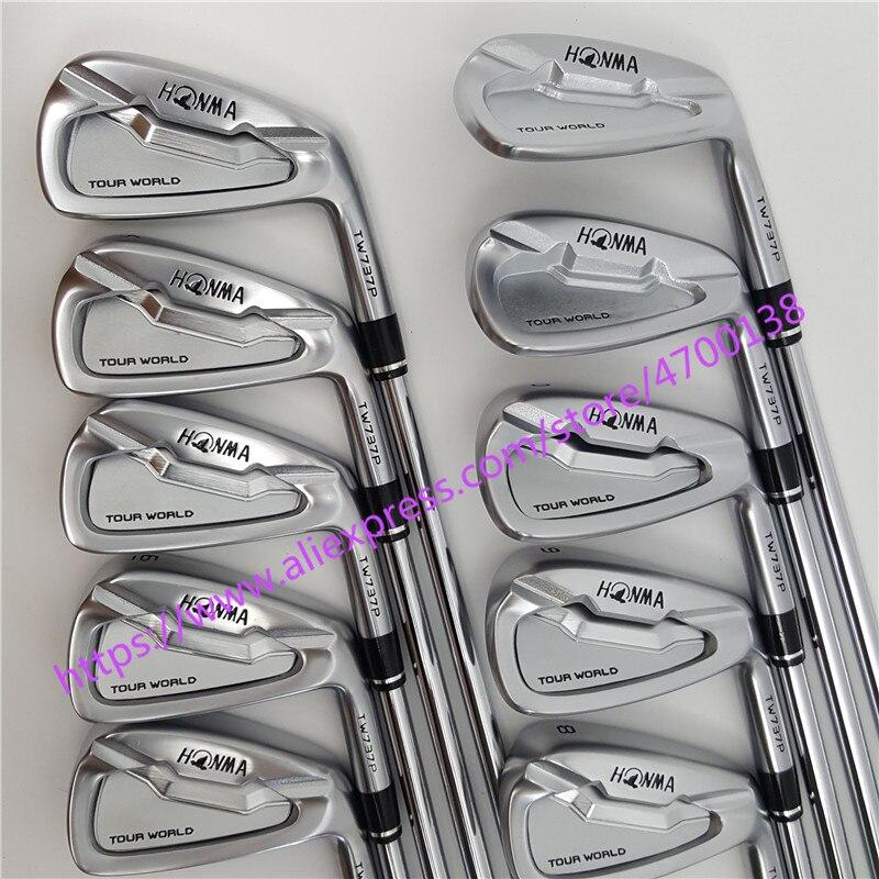Golf Clubs 737 p golf fer HONMA World Tour TW737p fer groupe 4-10 w (9 pièces) aucun 3 # argent Couverture