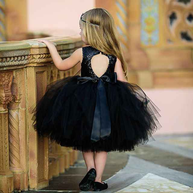 Niño pequeño niños recién nacidos bebé lentejuelas sin mangas tutú de tul vestidos de espalda descubierta vestido de fiesta para dama de honor ropa linda