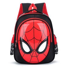 2019 3D 3-6 Year Old School Bags For Boys Waterproof Backpacks Child Spiderman Book bag Kids Shoulder Bag Satchel Knapsack