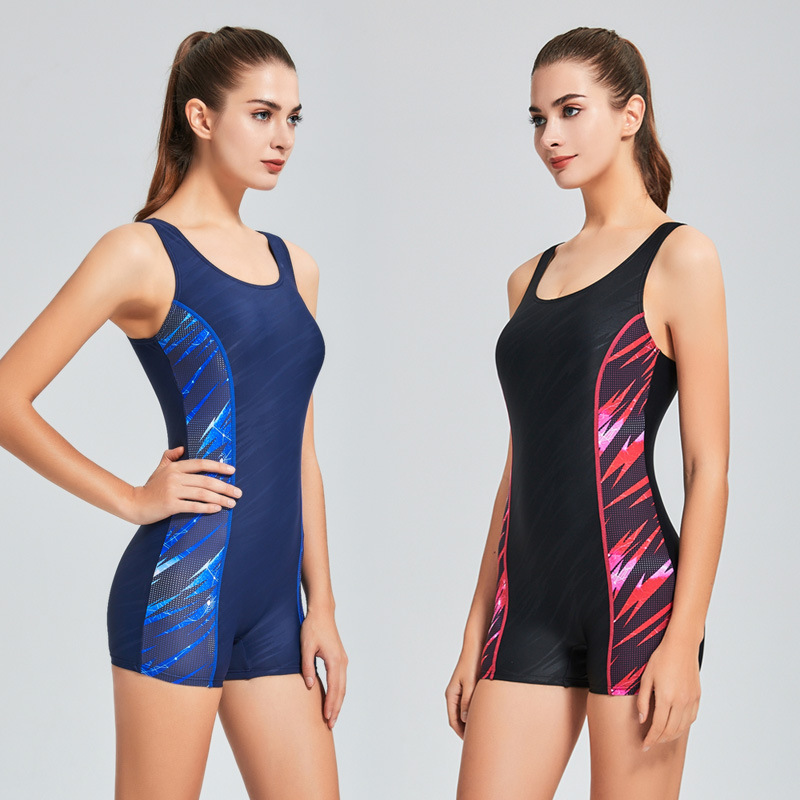 Professional Bathers One-piece Suits Women Sports Suits Swimsuit One Piece Surfing Swimwear Female Swim Suit athletic bodysuit