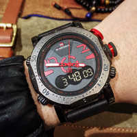 NAVIFORCE Men Sports Watches Fashion Digital LED Analog Quartz Dual Display Watch Men's Waterproof Clock Male Relogio Masculino