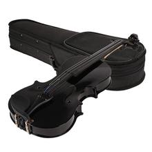 Portable 1/8 Violin Case Cover Fiddle Box Storage Bag Violin Accessories Musical Instrument musical instrument backpack euphonium protective bag