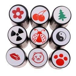 Perfeclan быстросохнущие пластиковый мяч для гольфа штамп маркер впечатление печать Гольф-клуб аксессуары символ гольфер сувенирный подарок