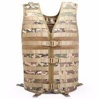 Outdoor Hunting Ciras Tactical Military Airsoft Vest Plate Carrier Unloading Chest Rig Bag Molle Camping Travel Sport Trecking 3