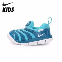 Nike Caterpillar Children's Shoes Virgin Boy 2018 Autumn And Winter New Product Light Pedal Motion Running Shoes#343938