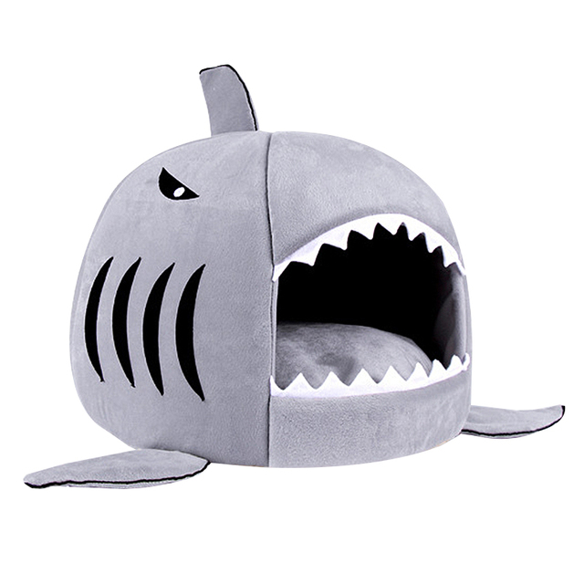 Shark Shaped House for Cats