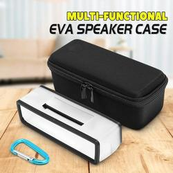 Leory caso de viagem para bose soundlink mini/mini 2 alto-falante bluetooth eva caixa armazenamento portátil capa protetora