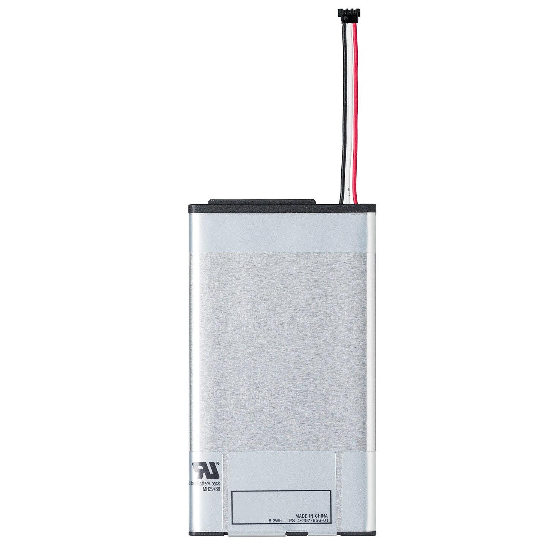 Bloco recarregável da bateria do li-íon de osstent 3.7 v 2210 mah para o console de sony ps vita psv 1000