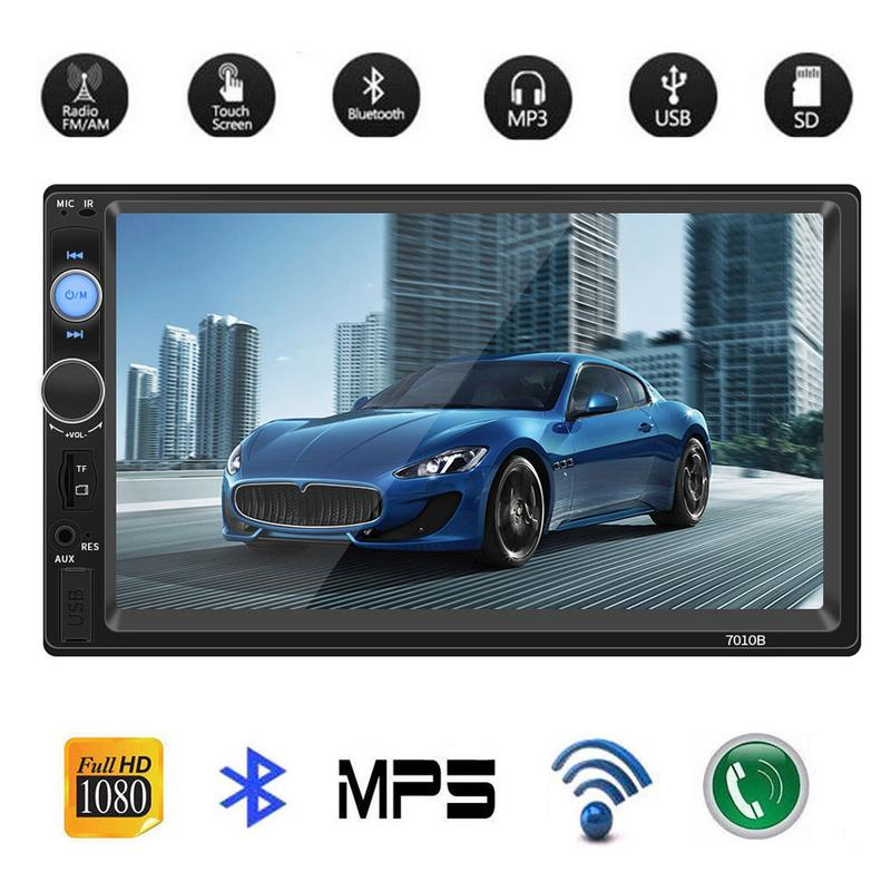 7 Inch 2 DIN Car Bluetooth Stereo Radio Car MP5 Card Player Connected To The Camera7 Inch 2 DIN Car Bluetooth Stereo Radio Car MP5 Card Player Connected To The Camera