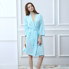 8ec0a260ab Robes A Generation Of S Female Summer Bathrobe Men s Home Service Couple  Absorbent Robe Breathable Seven