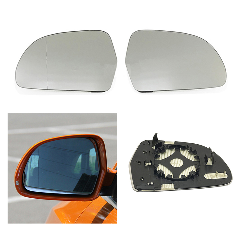 Fits A4 B8 C6 2009-2012 Replacement Right Side Rearview Mirror Glass Lens