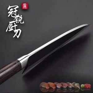 Image 2 - Japanse Deba Mes Roestvrij Staal Speciale Vis Snijden Keuken Professionele Koken Gereedschap Zalm Tonijn Sashimi Snijden Carving
