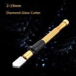 1 pcs Atualizar Cortador de Vidro do Diamante 2-19mm 175mm Liga Óculos de Carbonização de Tungstênio Cortadores Para A Ferramenta Mão máquina de Corte De vidro