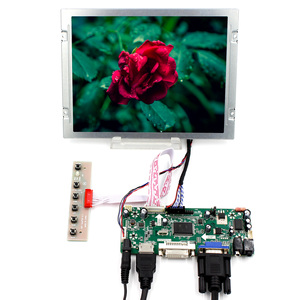 8,4 дюйма 8,4 дюйма 800X600 ЖК-экран AA084SC01 и плата контроллера M. N68676 с HDMI VGA DVI входом