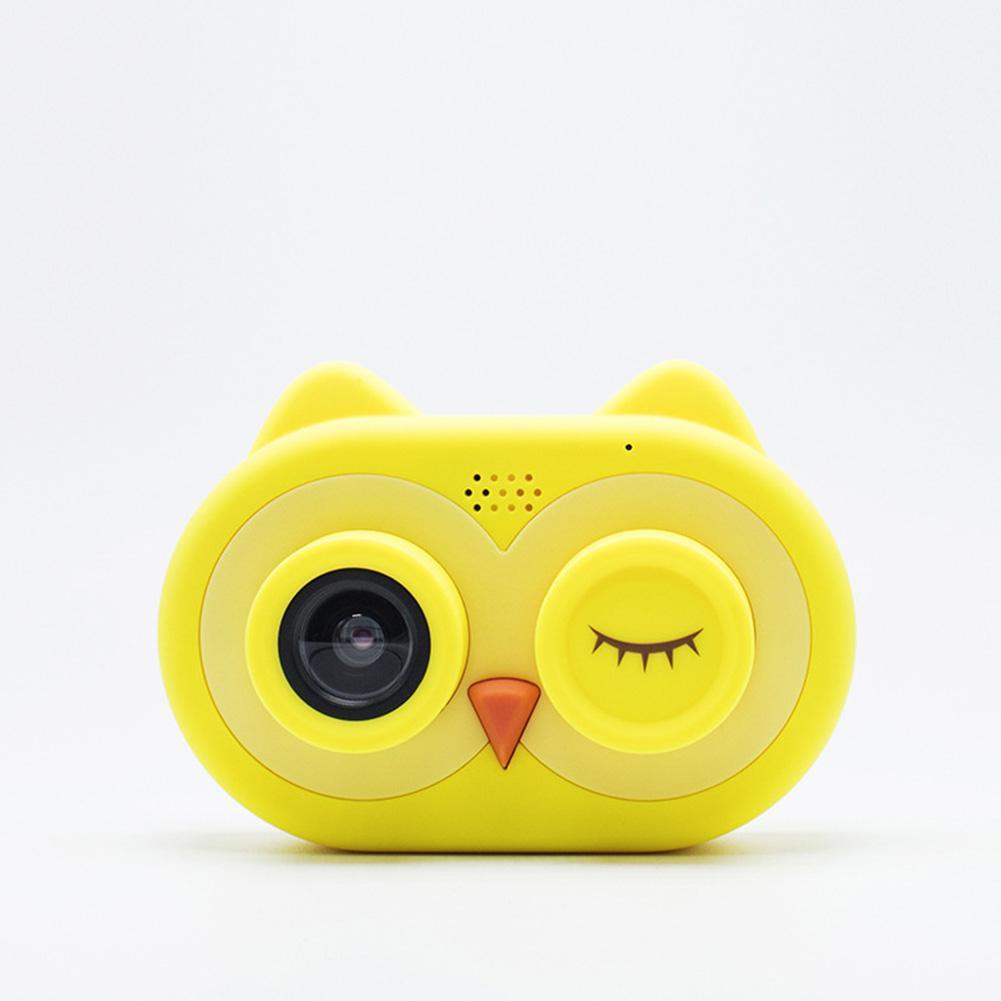 RCtown Cartoon Owl Shape Smart Camera For Kids Boys Girls Photos Video Birthday Festival Gift Kids