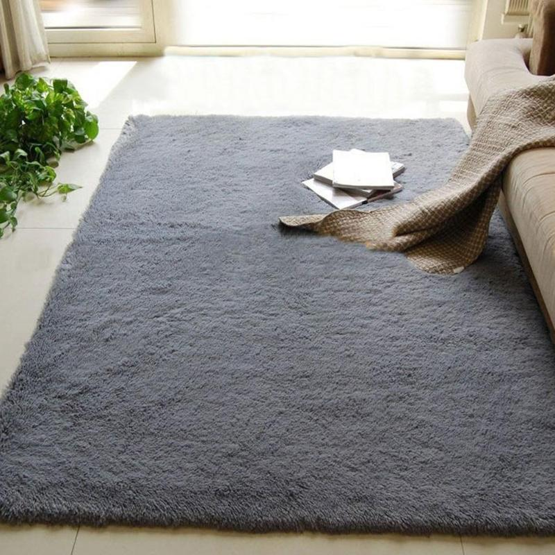 Luxury Large Motley Plush Carpets Shag Soft Fluffy Area Rugs For Living Room New