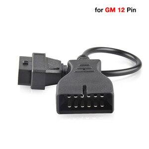 Автомобильный диагностический кабель Gm12 для Gm 12pin Obd 2 Obd2, адаптер на 16pin Obd2 адаптер для Daewoo