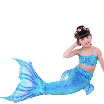 Kids Mermaid Tail For Swimming Sea Mermaid Tails Girls Costume Swimsuit Ariel the Little Mermaid Tails Bikini - DISCOUNT ITEM  45% OFF All Category